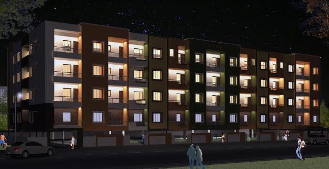 Sai Ashirwaadh Paradise Block 2, Kudlu, Bangalore