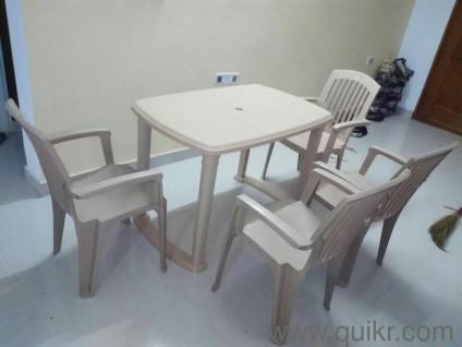 PREMIUM Plastic Dining Tables 4 Seater Good Quality
