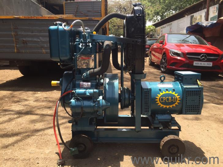10 Kva Open Low Noise Portable Diesel Generator Set Call 9167468837 New Inverters Ups Generators Agaram Bangalore Quikrgoods