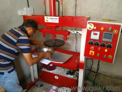 Profitable Small Scale Business at Home -Paper plate Manufacturing unit & Quikr User Profile