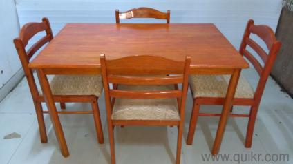 NAVRATRI SALE Quikr Certified 4 Seater Dining Table Set For Sale