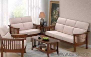 Sheesham Solid Wooden Furniture Sofa Set With Cushion Work   Brand ...