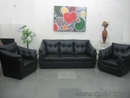Groovy 5 Seater Sofa Set Black Leatherite Sofa Set Shape Sofa Gmtry Best Dining Table And Chair Ideas Images Gmtryco