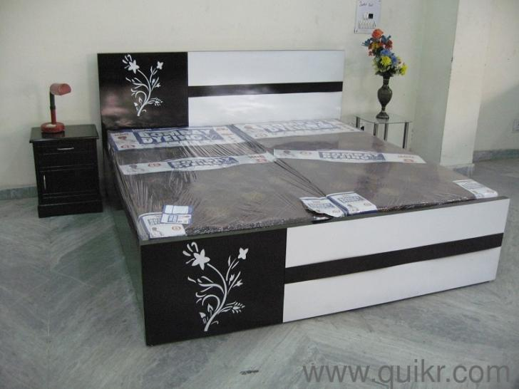 Flower Double Bed With Mattress Bed Set Double Bed With Mattress