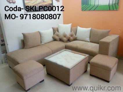 PREMIUM Discounted Sofa Set Designer 6 Seater With 2 Ottoman Call Whatsapp