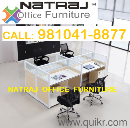 5 Natraj Modular Workstation Office Furniture Noida