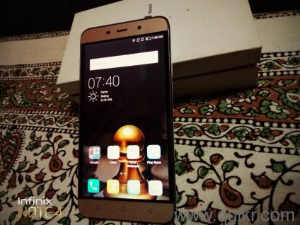 Coolpad note 3 4g volte phone 3gb ram 16 gb internal memory 13mp back  camera with flash and 5mp front camera 3000 mah battery  1year old With  bill