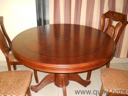 PREMIUM very good condition dining table set in round shape. Used Dining Tables Online in India   Home   Office Furniture in India