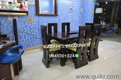 Dining Table Koramangala Granite Top