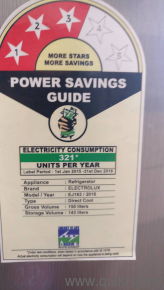 6 150 litres electrolux
