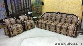PREMIUM A Royal Designer 6 Seater Sofa Made Of Premium Mahogany Wood