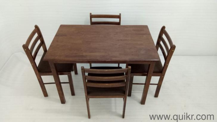 4 Seater Gently Used Dining Table Set For Sale By Quikr Certified