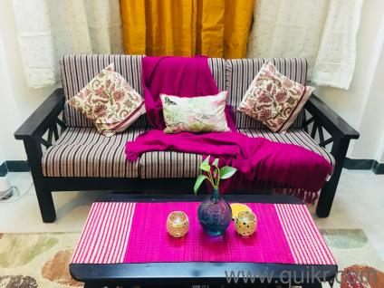 Teak wood sofa set for sale - Gently Home - Office Furniture ...