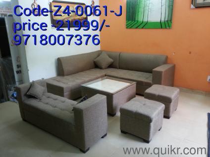PREMIUM U0026 URGENT Call/What  9718007376) Sofa Set 5 Seater 2 Ottoman +  Center Table New