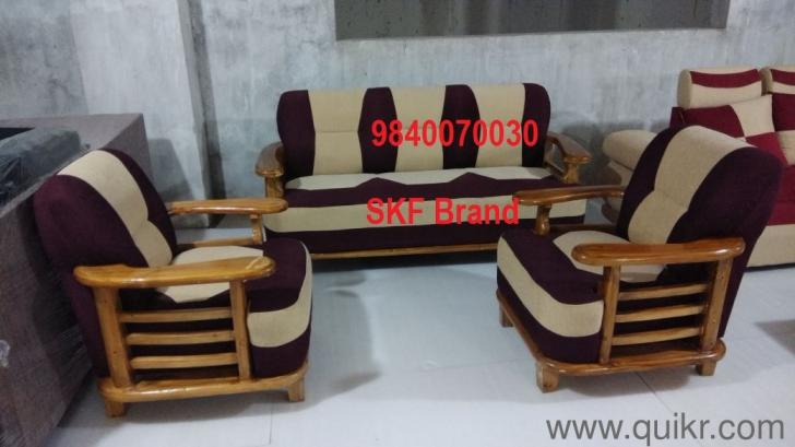 Brand New Wooden Sofa Set Available At Factory Price