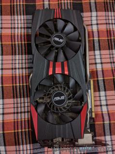 Asus Radeon R9 280x Direct II 2 yrs old in excelent condition