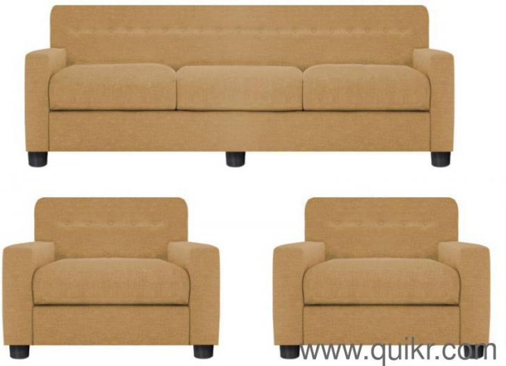 3 1 1 Fabric Sofa Set By Gioteak Finish Matte Color
