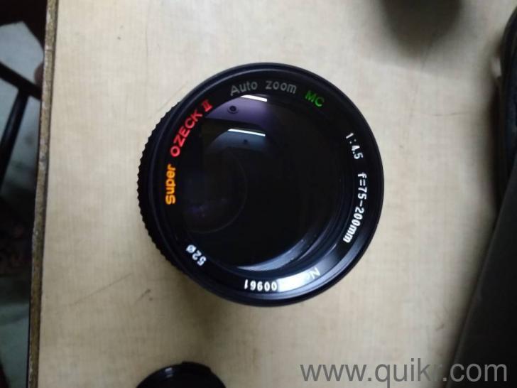 canon fd manual focus lens
