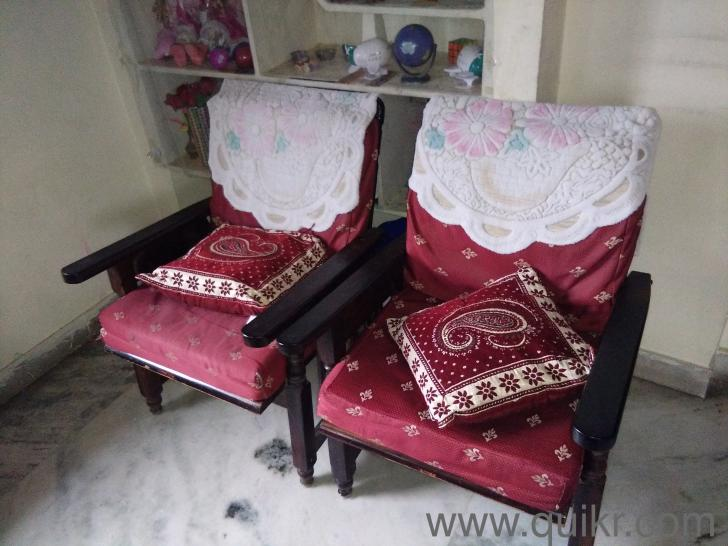 Rose Wood Sofa Set Good In Condition Gently Home Office