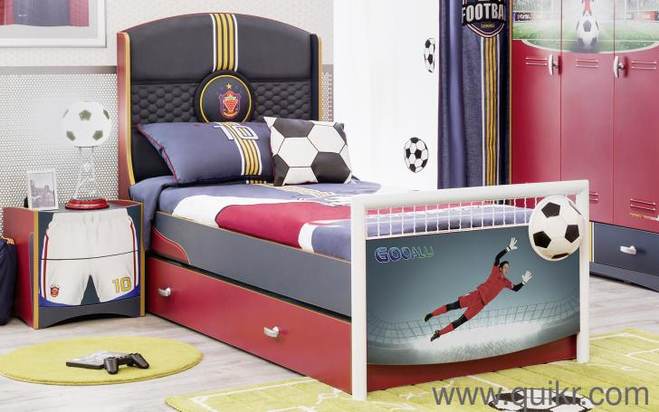 Single Bed With Football Theme For Kids INR 45000