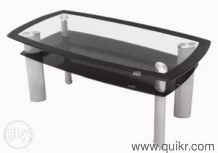 Delicieux 8. Godrej Interio Tempered Glass Dining Table 2layer Home   Office Furniture