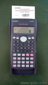 new scientific calculator for sale everything else krishna nagar