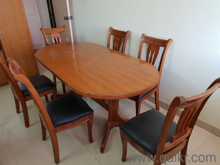 Dining Table And Chairs Set Teakwood Dining Tables Seater - Wooden dining room table with 6 chairs