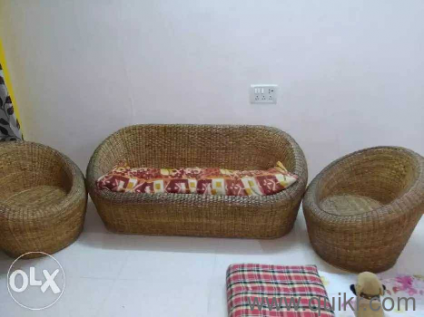 Surprising Cane Sofa Set Olx Hyderabad Baci Living Room Lamtechconsult Wood Chair Design Ideas Lamtechconsultcom