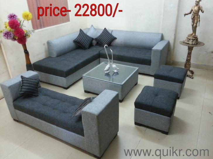 Designer Sofa Set 2 Puffy Center Table Sethi Diwalilimited Stock Lowest
