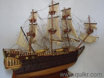 IMPORTED HANDMADE SHIPS & WOODEN SHOWPIECE FROM VIETNAM for sale at my  place in vasai