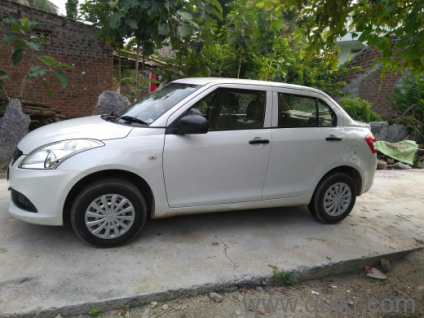 White 2017 Maruti Suzuki Swift Dzire Tour Ldi 45000 Kms Driven In