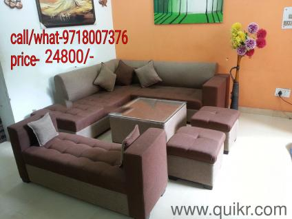 PREMIUM U0026 URGENT Factory Price Sofa Set With Puffy Center Table Sethi  ,21800/ Only Call Now