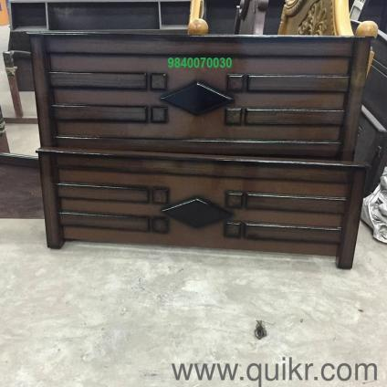 Teak Wood Double Cot Bed Models Photos In Chennai Used Home