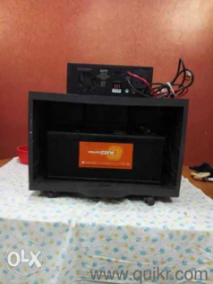 850va apc inverter with 120ah powerzone battery with original apc trolley  all is company provided item not even a single problem in ups just now