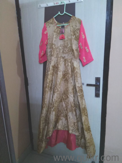 Party Wear Long Gown Almost Clothing Garments Mahavir Enclave