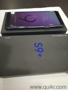 Samsung S9 Plus, 3 GB RAM, 64 GB ROM, Expandable Upto 400 GB, 6 2 inch Quad  HD+ Display, 12MP + 12MP Dual Rear Camera, 8MP Front Camera, 3500 mAh