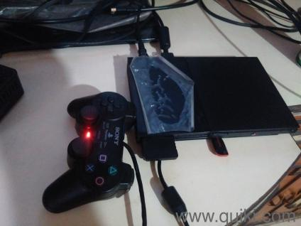 PS2 ( Playstation 2 ) console modded with matrix chip