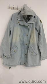 6d51d6dbffd9 Denim jacket with a hoodie vest