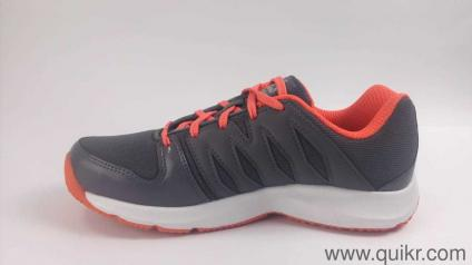 50aa3cef941 Reebok Women s Cool Traction Xtreme Ash Grey Fire Coral Running Shoes-4 UK