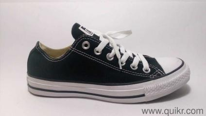 af876d250d6e Converse Unisex Black Sneakers - 5 UK India (37.5 EU) with replacement  guarantee