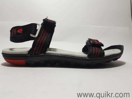 9d0fc1682f7d Lancer Men s Black Red Sandals-9 UK India (43 EU)(EARTH