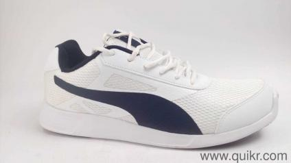 c920fd0d81788b Puma Men s White-Peacoat Sneakers-9 UK India (43 EU)(