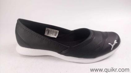 689e8795d48 Puma Women s Vega Ballet Sl Idp Black Ballet Flats - 7 UK India (40.5