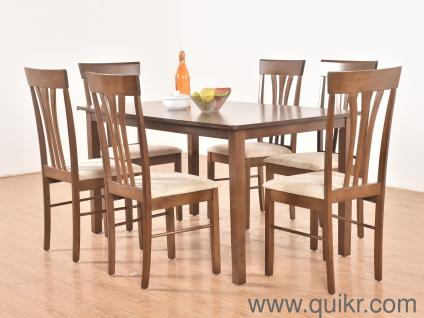 Pridence Solid 6 Seater Dining Table Set By Zen Life