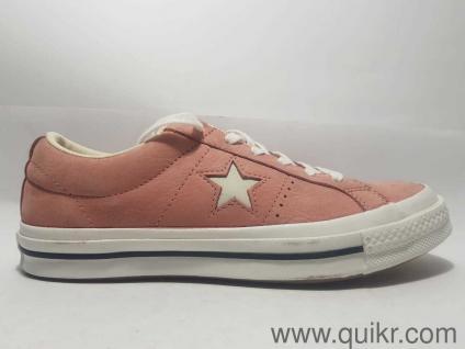 8c35755c15a Converse Unisex Rust Pink Vintage White Sneakers-6 UK India (39 EU