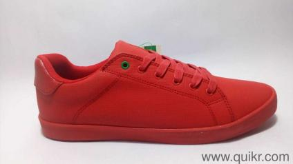 5d6a37b79 United Colors of Benetton Men s Red Sneakers-9 UK India (43 EU)
