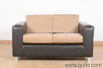 Ulrich Leatherette Two Seater Sofa