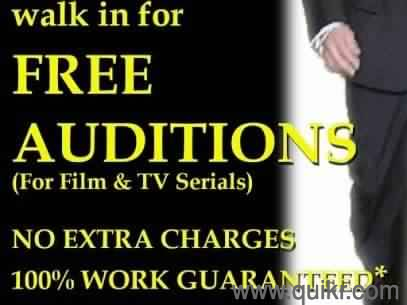 Free auditions for netflix amazon prime only whatsapp 8928501822 | Quikr