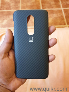 One Plus 6 protective case karbon (TPU case free)