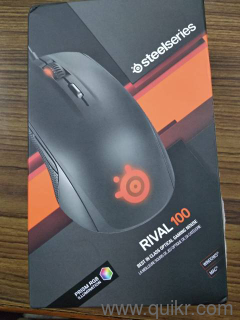 a0fe98755bc SteelSeries Rival 100 Gaming Mouse Black With Box - Brand Computer ...
